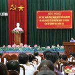 Đô Lương triển khai học tập, quán triệt Nghị quyết 29 và Nghị quyết số 30 của Bộ Chính trị, khóa XII