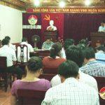UBND huyện tổ chức hội nghị thường kỳ tháng 9 năm 2018
