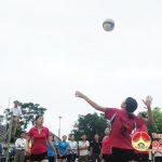 LĐLĐ huyện khai mạc giải bóng chuyền nữ cụm công đoàn số 3 khối tiểu học