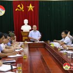 Đoàn Đại biểu Quốc hội tỉnh Nghệ An giám sát tại Đô Lương