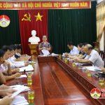 UBND huyện tổ chức hội nghị giao ban khối Văn hóa – Xã hội