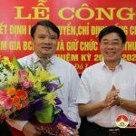 Đô Lương: tổ chức lễ công bố Quyết định luân chuyên, chỉ định đồng chí Phùng Thành Vinh tham gia BCH Đảng bộ, BTV Huyện ủy và giữ chức vụ Phó bí thư Huyện ủy nhiệm kỳ 2015 – 2020