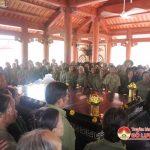 Hội cựu TNXP thắp hương  tại khu di tích lịch sử Truông Bồn
