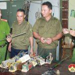 Công an Đô Lương:Làm tốt công tác vận động, thu hồi vũ khí, vật liệu nổ, công cụ hỗ trợ trái phép