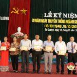 Đô Lương tổ chức kỷ niệm 70 năm ngày truyền thống kiểm tra Đảng