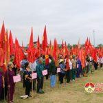 Đô Lương tổ chức phát động toàn dân ra quân làm giao thông, thủy lợi, vệ sinh môi trường gắn với chương trình  xây dựng Nông thôn mới.