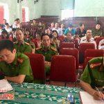 Ban công an xã Yên Sơn tổ chức diễn đàn Công an lắng nghe ý kiến nhân dân