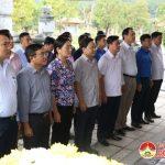 Khu di tích lịch sử Truông Bồn tổ chức lễ giỗ lần thứ 50 của 13 liệt sỹ TNXP