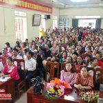 Hội phụ nữ xã Thuận Sơn tổ chức hội thi tìm hiểu kiến thức nuôi, dạy con, tự tin phát triển kinh tế