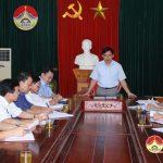 """Sở nội vụ kiểm tra công tác thực hiện """"Năm Dân vận Chính quyền"""" 2018 ở Đô Lương"""