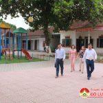 Ban chỉ  đạo xây dựng nông thôn mới huyện thẩm định kết quả xây dựng nông thôn mới xã Bắc Sơn