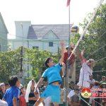 Hội nông dân xã Xuân Sơn tổ chức chung kết giải bóng chuyền nam