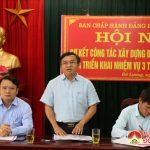 Ban chấp hành huyện ủy tổ chức hội nghị sơ kết công tác xây dựng Đảng 9 tháng đầu năm