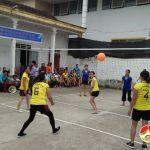 Hội LHPN Thị trấn khai mạc giải bóng chuyền nữ