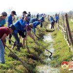 Xã Lưu Sơn tổ chức ra quân làm giao thông thủy lợi