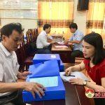 Ban tuyên giáo tỉnh ủy Nghệ An kiểm tra hồ sơ quản lí giáo dục lí luận chính trị năm 2018.