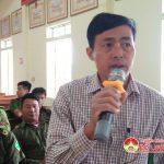 Công an xã Bồi Sơn tổ chức hội nghị lắng nghe ý kiến của nhân dân