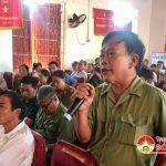 Đại biểu Quốc hội tiếp xúc cử tri Đô Lương