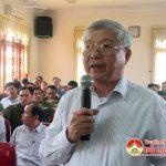 Công an Đô Lương tổ chức hội nghị lắng nghe ý kiến nhân dân