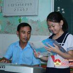 Thầy giáo Đặng Đình Hoài đam mê với âm nhạc