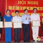 Đô Lương tổ chức hội nghị tổng kết công tác BHYT học sinh năm học 2017 – 2018