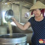 Chị Ngô Thị Oanh xóm Yên Trường, xã Yên Sơn làm ăn kinh tế giỏi