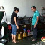 Nhiều người dân Đô Lương khôi phục nghề ép dầu lạc