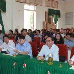 Đồng chí Hoàng Viết Đường, Phó chủ tịch HĐND tỉnh tiếp xúc cử tri xã Đại Sơn, Đô Lương