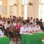 Đại biểu HĐND tỉnh và huyện tiếp xúc cử tri xã Nam Sơn, Đô Lương