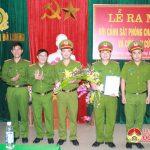Công an Đô Lương: Ra mắt đội PCCC và cứu nạn, cứu hộ