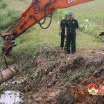 Đô Lương phát hiện một quả bom nặng 300kg
