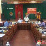 Hội đồng thẩm định kết quả xây dựng nông thôn mới xã Đông Sơn