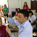 Trường THPT Đô lương 3 tổ chức khám, tư vấn và cấp thuốc miễn phí cho các thầy, cô giáo.