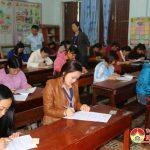 Đô Lương tổ chức kỳ thi thăng hạng chức danh nghề nghiệp cho 99 giáo viên.
