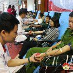 Đô Lương có 1900 người tham gia hiến máu