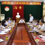 Thường trực HĐND huyện triển khai công tác chuẩn bị kỳ họp thứ 8 HĐND huyện khóa XIX