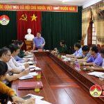 Đô Lương tổ chức hội nghị đánh giá hoạt động hội đồng nghĩa vụ quân sự huyện trong công tác tuyển quân năm 2018 và triển khai nhiệm vụ năm 2019