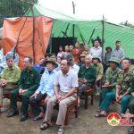 Hội CCB huyện khởi công xây dựng nhà đồng đội cho hội viên CCB nghèo ở xã Văn Sơn.