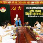 Sở Văn hóa và Thể thao tổ chức giao ban thi đua cụm số 3  Đô Lương