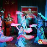 Ban công tác mặt trận khối 4 , Thị Trấn tổ chức ngày hội ĐĐK dân tộc.