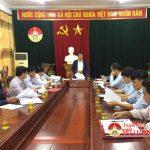 Thường trực HĐND huyện nghe ý kiến phản ánh cử tri trước kỳ họp VIII
