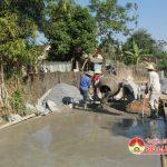 Nhân dân xã Thuận Sơn, Đô Lương đầu tư 1,5 tỷ đồng xây dựng hơn 2 km đường bê tông.
