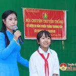 Nữ cán bộ Đoàn đam mê giáo dục truyền thống Truông Bồn