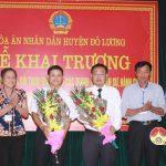 Thành lập trung tâm hòa giải, đối thoại giải quyết các tranh chấp dân sự, hành chính tại TAND huyện Đô Lương.