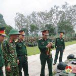 Đoàn công tác Bộ Tư lệnh Quân khu 4  Kiểm tra công tác sẵn sàng chiến đấu tại Trung đoàn 335, Sư đoàn 324