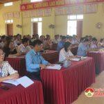 Đại biểu HĐND tỉnh xúc cử tri tại xã Thái Sơn