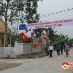 Đô Lương có thêm 4 xã đạt chuẩn nông thôn mới