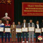 TTVH huyện: Tổ chức lễ trao thưởng các tập thể cá nhân có thành tích xuất sắc tại đại hội TDTT lần thứ 8