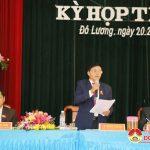 Phiên chất vấn và trả lời chất vấn tại kỳ họp thứ 8, HĐND huyện khóa XIX