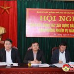 Ban chấp hành Đảng bộ huyện : Hội nghị tổng kết công tác xây dựng đảng năm 2018.